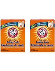 Six [6] Boxes - All Purpose Pure Baking Soda 500 grams (17 ounces) by Arm and Hammer, All Safe and Natural, Excellence and Purity in Cleaning Homes, Garage, Sinks and Carpets