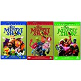 The Muppets: The Very Best Of The Muppet Show Complete Volume 1 2 3 DVD Collection Extras: Elton John Episode Making of The Muppet Show Test Your Knowledge Quiz by Kermit the Frog