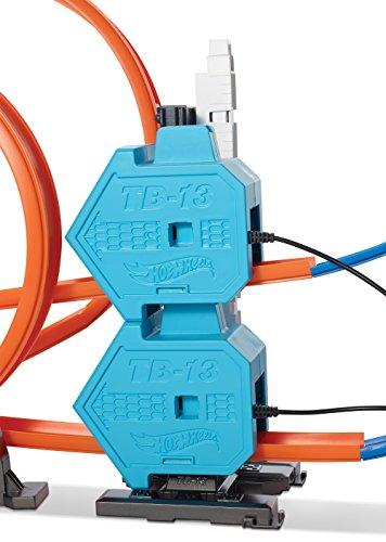 hot wheels track builder system power booster kit buy. Black Bedroom Furniture Sets. Home Design Ideas