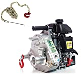 Portable Winch PCW5000 Gas-Powered Capstan Winch with PCA-1295 Choker Chain (Bundle, 2 Items)
