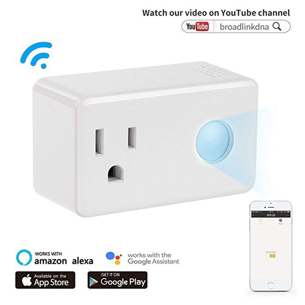 Broadlink SP3 Contros Smart Plug Wifi Remote Control Smartphone Energy Monitor