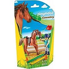 Playmobil-9259 Terapeuta de Caballos, Multicolor, Sin tañosllaños (9259)