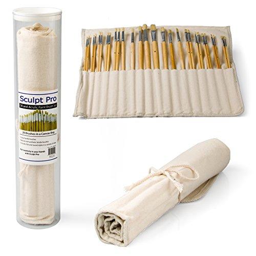paint-brush-set-oil-acrylic-watercolor-artists-premium-paintbrush-set-with-canvas-bag-28-pieces