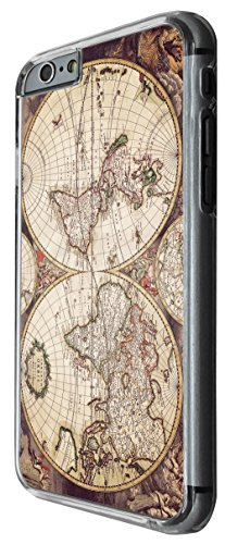 1222 - Vintage World Map The Earth Design For iphone 5 5S Fashion Trend CASE Back COVER Plastic&Thin Metal -Clear