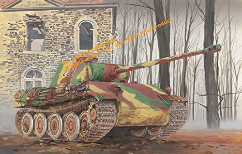 Dragon Models 1/35 Panther Ausf. G Late Production with Steel Road Wheel 1