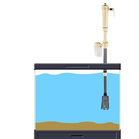 Baoblaze Cambiador de Agua Eléctrico Acuario Batería Limpiador Pecera Tanque Arena Lavadora