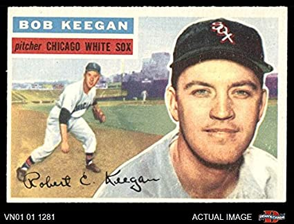 Amazoncom 1956 Topps 54 Bob Keegan Chicago White Sox