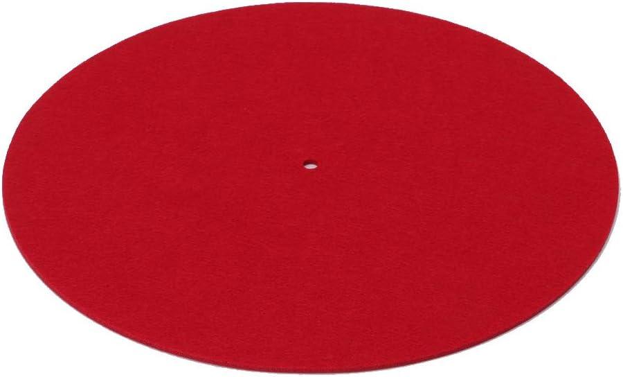 Xuniu Turntable Mat 3mm Felt Platter Vinyl Record Players Anti-Vibration Durable Anti-Static