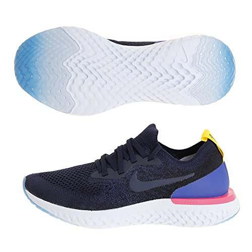 Epic 400 Nike Navy Running Women's Multicoloured Shoes Flyknit College Competition WMNS College React Sw4xE7w