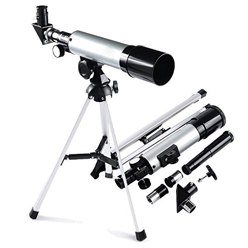 The Magic Toy Shop Professional Refractor Telescope Monocular Space Astronomical Scope 360 x 50 mm
