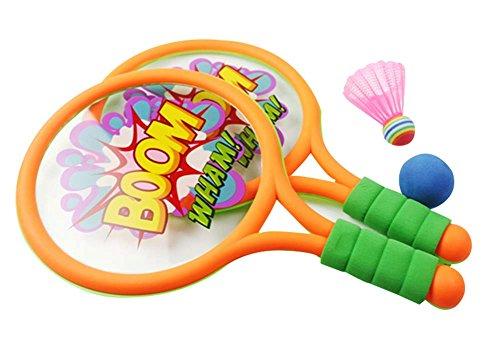 Panda Superstore Tennis Racket Outdoor Sports Badminton Racket Children Toys Baby Fitness by Panda Superstore