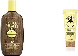product image for Sun Bum Original Sunscreen Lotion, SPF 30 and Original Moisturizing Face Lotion, SPF 50