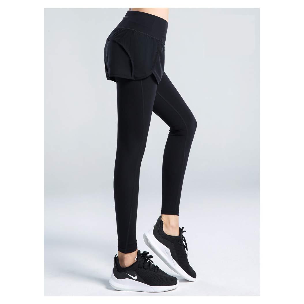 Pant L Combinaison de Sport à séchage Rapide VêteHommests de Yoga VêteHommests de Fitness VêteHommests de Sport pour Femmes