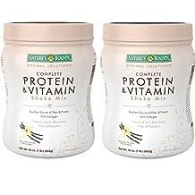 Nature's Bounty Protein & vitamin Shake Mix, Vanilla bean, 16 Ounce by Nature's Bounty