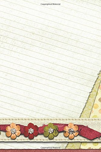 Download Flowers Journal: Small Pocket 4 by 6 Mini, Lined, Ruled Paper Notebook To Write In For Men, Women, Girls, Boys, Kids & Adults. Portable Empty Writing Book Pad (Volume 22) PDF