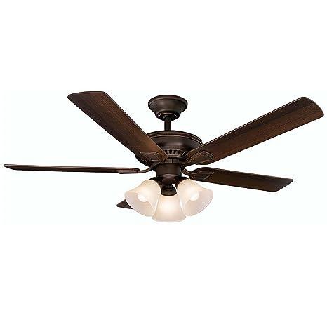 Amazon.com: Campbell 52 en. Mediterráneo Ventilador de techo ...