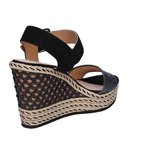 Kanna Kanna Sandales Sandales Pour Femme Noir wqq0r5d