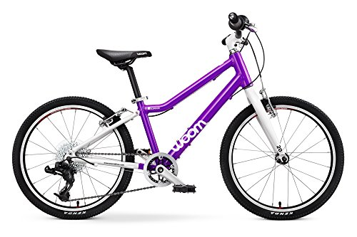 "Woom 4 Pedal Bike 20"", 8 speed, Ages 6 to 8 Years"