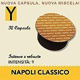 Yespresso Capsule Nescafe Dolce Gusto Compatibili Napoli - Confezione da 32 Pezzi