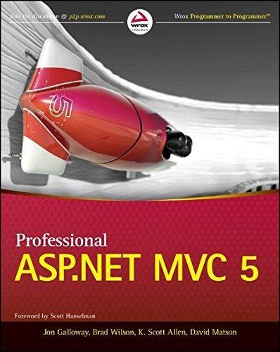 Professional ASP.NET MVC 5 by Jon Galloway (2014-08-04)