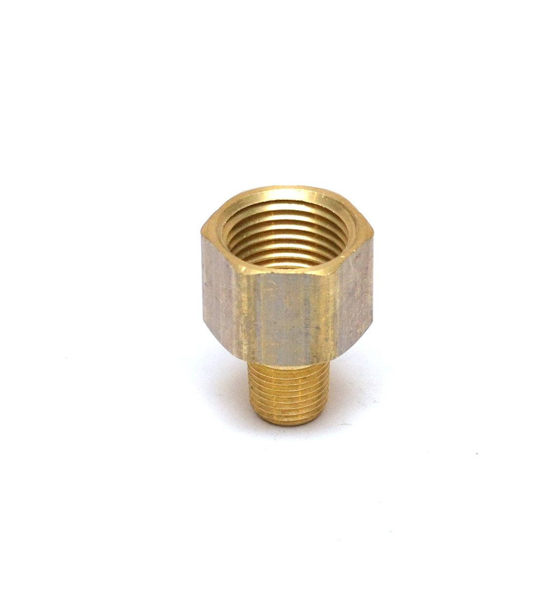 Acero Inoxidable para Agua Aceite Medidor de Presi/ón de Aire sourcing map Reducing Pipe Fitting Adapter 1//4 ZG Macho x 3//8 G Hembra
