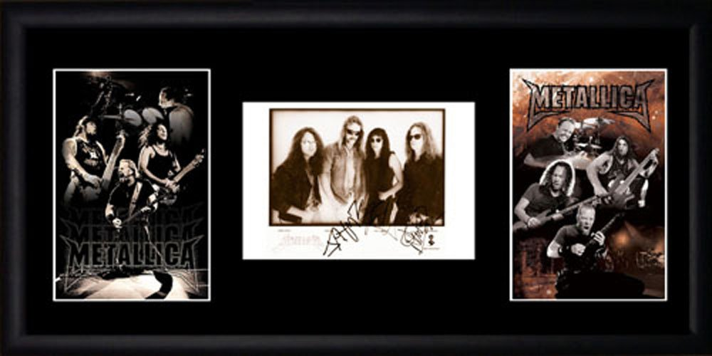 Metallica gerahmtes Foto Picture Favourites PB0348