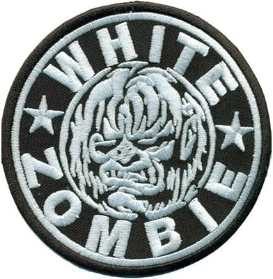 White Zombie Embroidered Patch