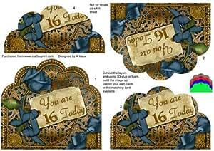 Azul Oro Rosa 16hoy Vieira inferior apiladora por Ann-Marie Vaux