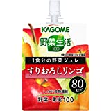Grated Kagome vegetable life 100 1 serving of vegetables jelly apple 180gX30 pieces
