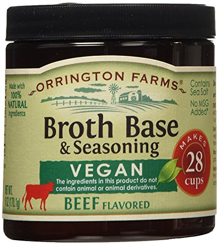 Orrington Farms Vegan Beef Flavored Broth Base, 6 (Flavored Beef)