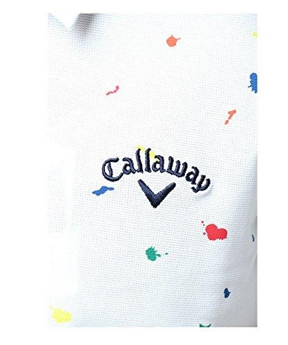 (キャロウェイ アパレル) Callaway Apparel [ 深堀プロ着用] 冷感 半袖 ポロシャツ (アイスコットン 採用) / 241-8157501 / ゴルフ ウェア