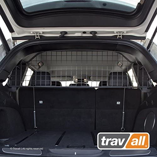 Travall Guard Compatible with Jeep Grand Cherokee 2010-Current Grand Cherokee SRT 2011-Current TDG1539 – Rattle-Free Steel Pet Barrier