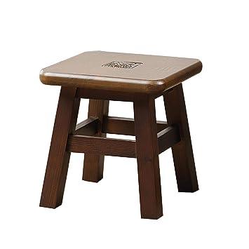 Tabouret Banc En Bois Massif Petit Banc Salon Table Basse Canapé
