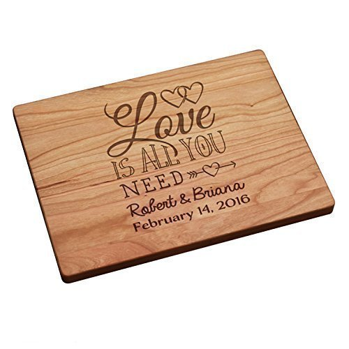 Personalized Cutting Board - Love Is All You Need