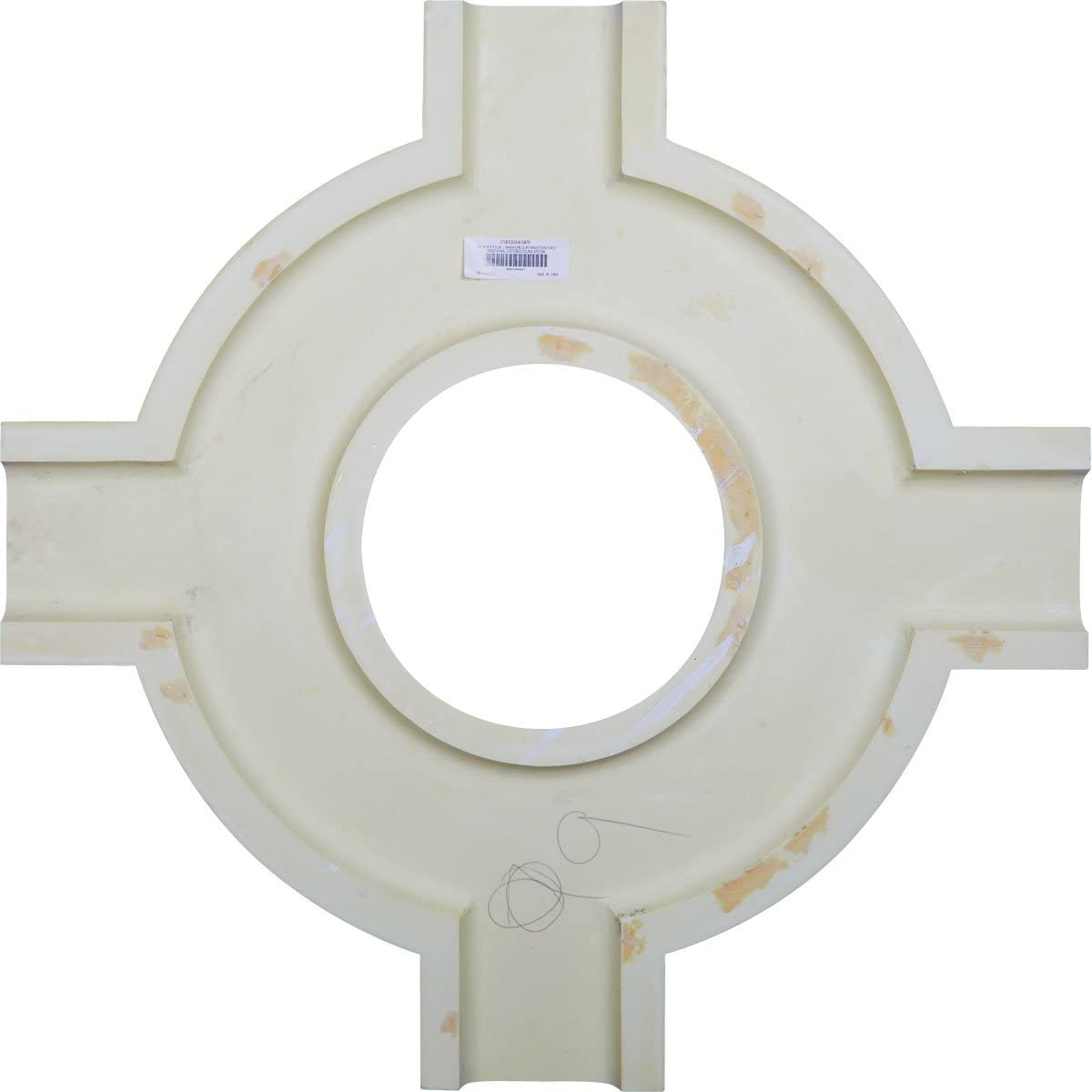 Ekena Millwork CC08PIC02X14X14TR 14W x 2P x 14L Perimeter Inside Corner for 8 Traditional Coffered Ceiling System