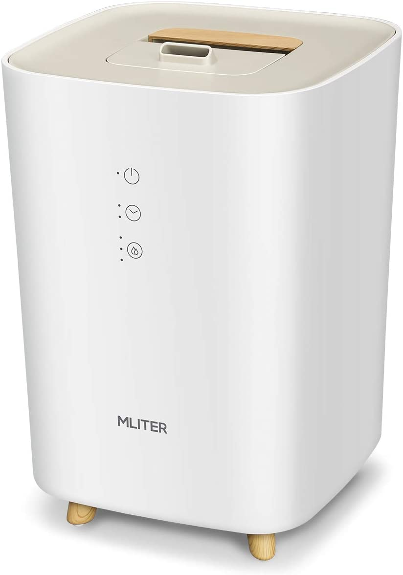 MLITER 2,5L Humidificador Ultrasónic, Difusor de Aceites ...