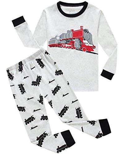 Dolphin&Fish Boys Pajamas Train Kids Pjs Cotton Toddler