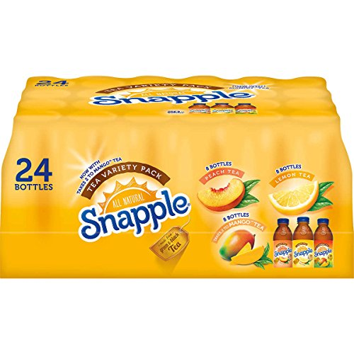 Snapple Peach - Snapple Iced Tea Variety Pack, 24 Count