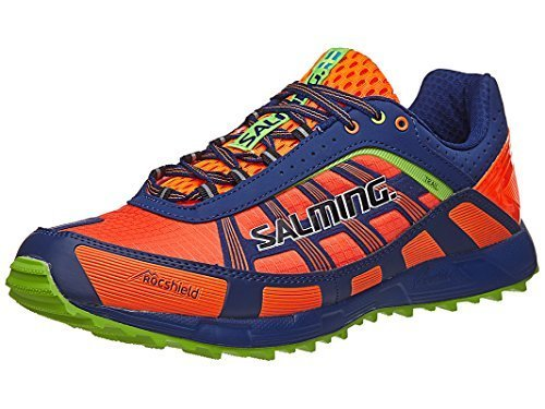 Salming Trail T3 Men's Shoes Shocking Orange/Blue B06XRNN28T 13 D(M) US|Orange/Blue