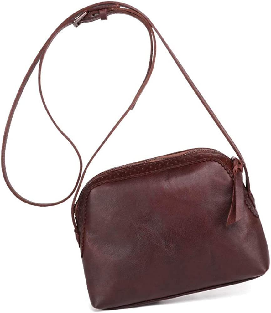 Fashion Leather Handbags Vegetable Tanned Shoulder Bag Retro Pouch Shopping Bag Shell Bag