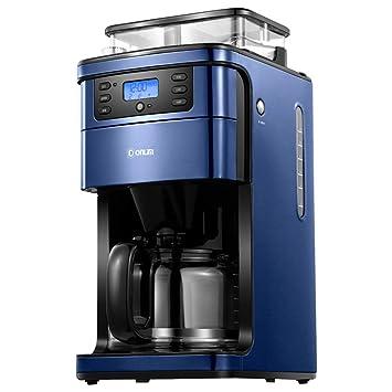 Cafetera, Cocina Casera, Pequeños Electrodomésticos, Máquina Automática De Café Molinillo, Inteligente Combinada En Uno, Control Remoto Wifi: Amazon.es: ...