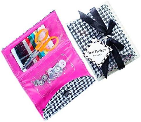 ソーイングセット10色縫い糸 携帯用