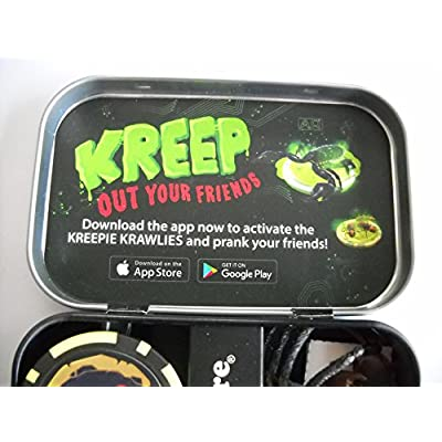 WOW Factory Magical Kreepie Krawlies for Your Smart Phone: Toys & Games