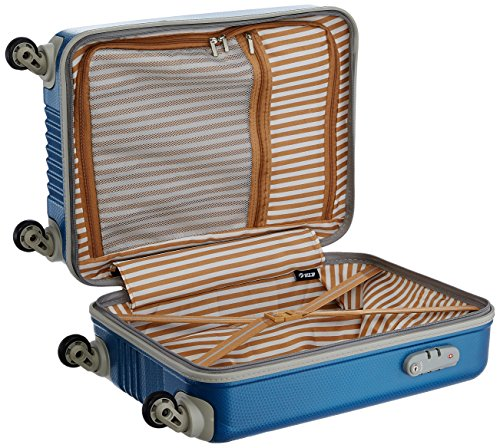 Vip Tube Polycarbonate 32 Ltrs Artic Blue Carry On Tube55atb Amazon In Bags Wallets Luggage