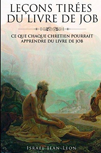 Lecons Tiree Du Livre De Job French Edition Kindle
