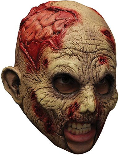 Undead Chinless Latex Mask Adult Accessory (Undead Nightmare Costumes)