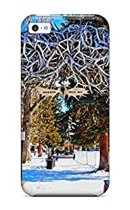 Best Awesome Antler Arch Flip Case With Fashion Design For ipod touch4 6148631K78345027