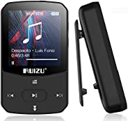 Bluetooth 5.0mp3 Player 8GB Portable Motion Clip MP3 Player HiFi Music Player with HD Screen, Support for Vide