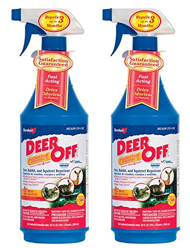 Havahart Deer-Off Ready To Use Repellent Spray, Pack of 2