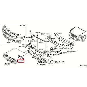 amazon com  infiniti genuine license plate bracket 96210
